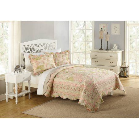 Better Homes and Gardens Samantha Quilt, Beige