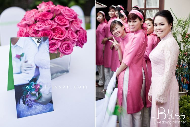 Wedding Ceremony in Vietnam by Bliss Wedding Planner   #wedding #weddingceremony #engagementvietnam #blissweddingplanner