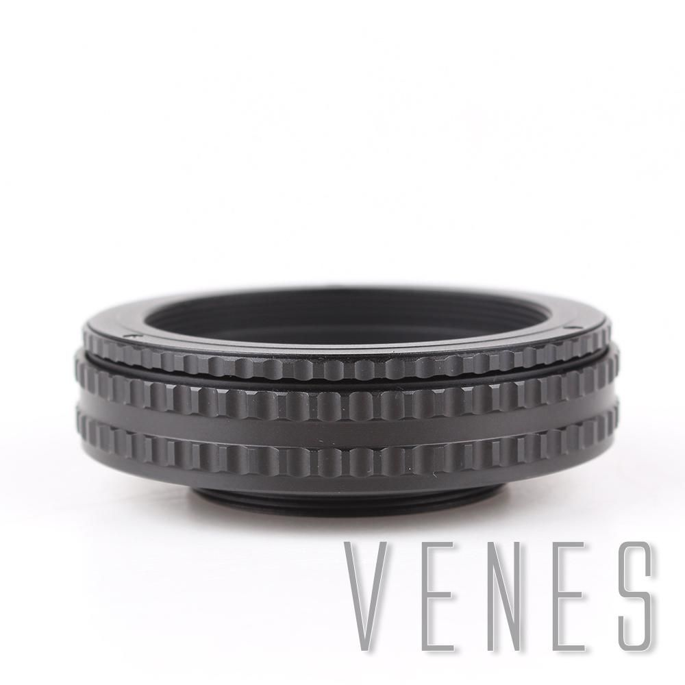 M42 to M42 17-31mm Adjustable Focusing Helicoid Adapter Macro Tube M42-M42