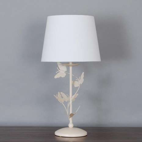 Cream Bella Butterfly Table Lamp