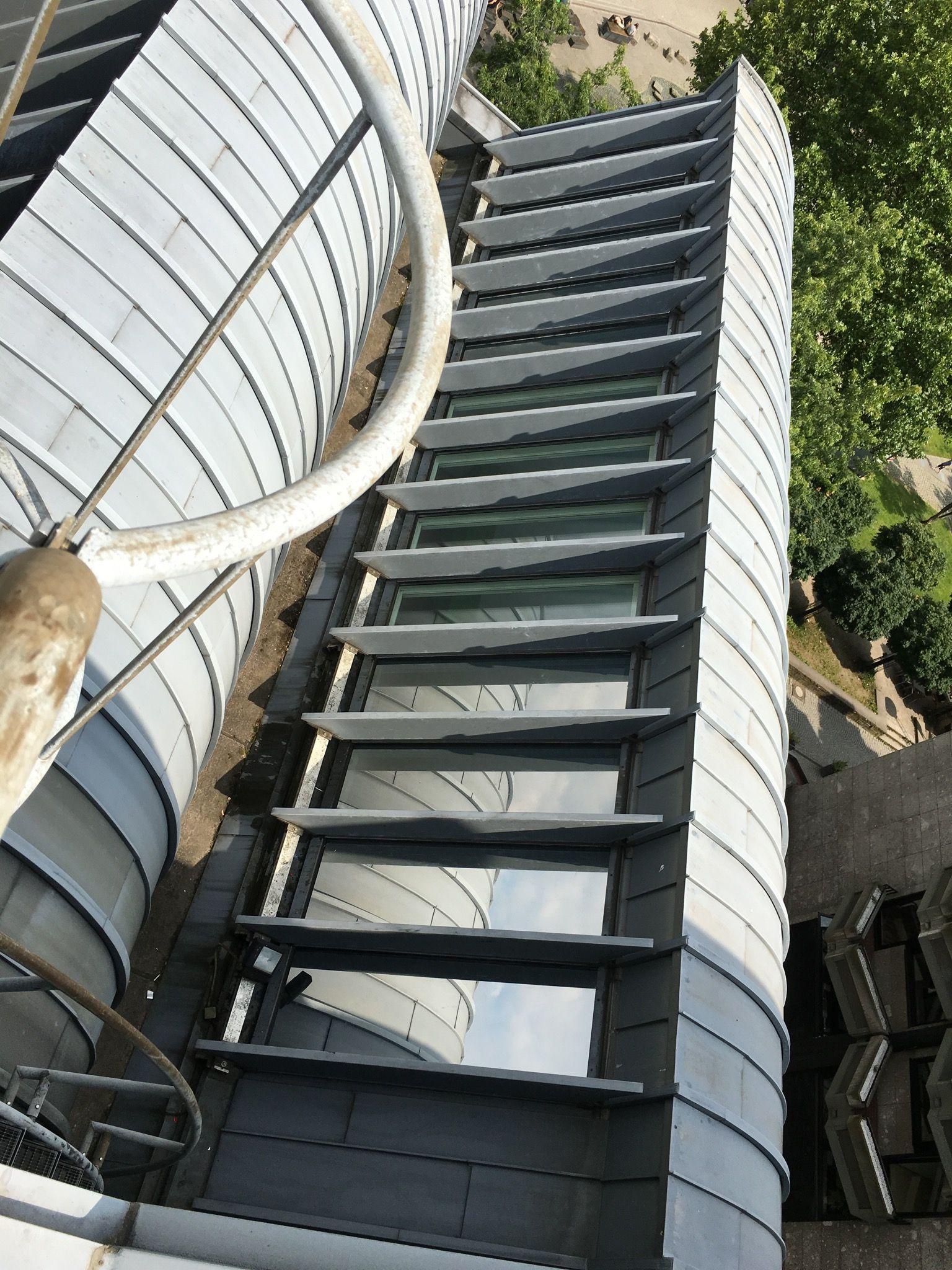 UV und Hitzeschutzfolien auf Dachfenster Ludwig Museum Köln