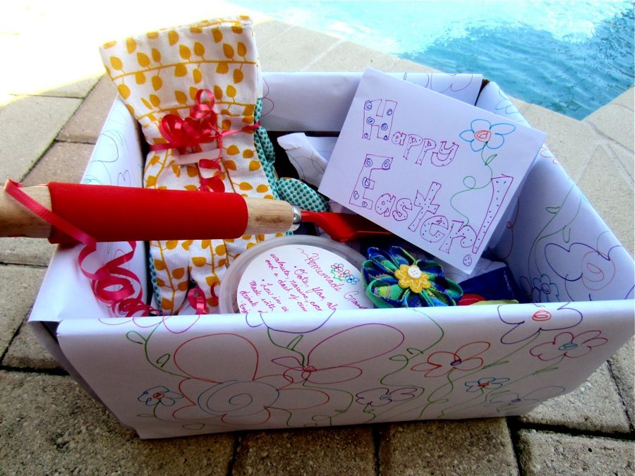 Last minute easter basket eco friendly easter baskets basket easter gift baskets negle Gallery