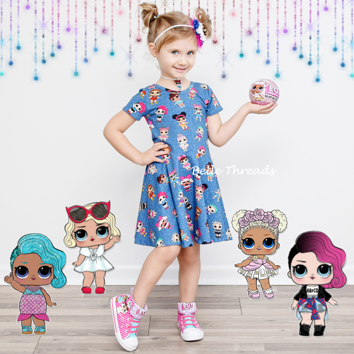 LOL Dolls Twirl Dress made by Belle Threads  LIMITED