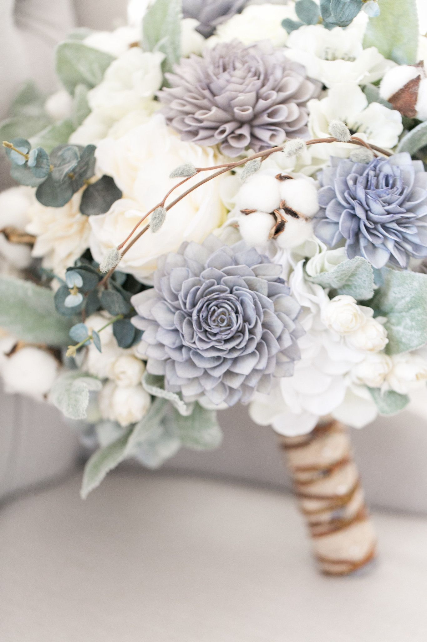 Colorful Wooden Flowers Wedding Bouquets Photo - Wedding and flowers ...