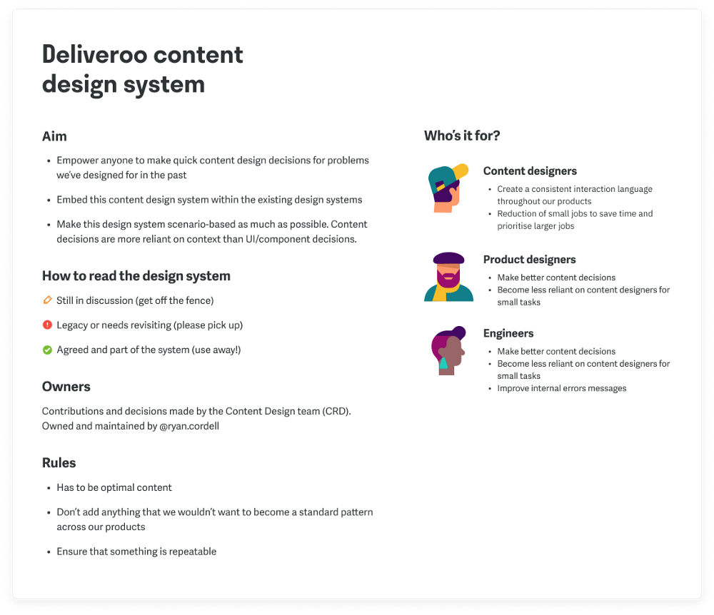 Content Design Systems Need You Design System Content Need You