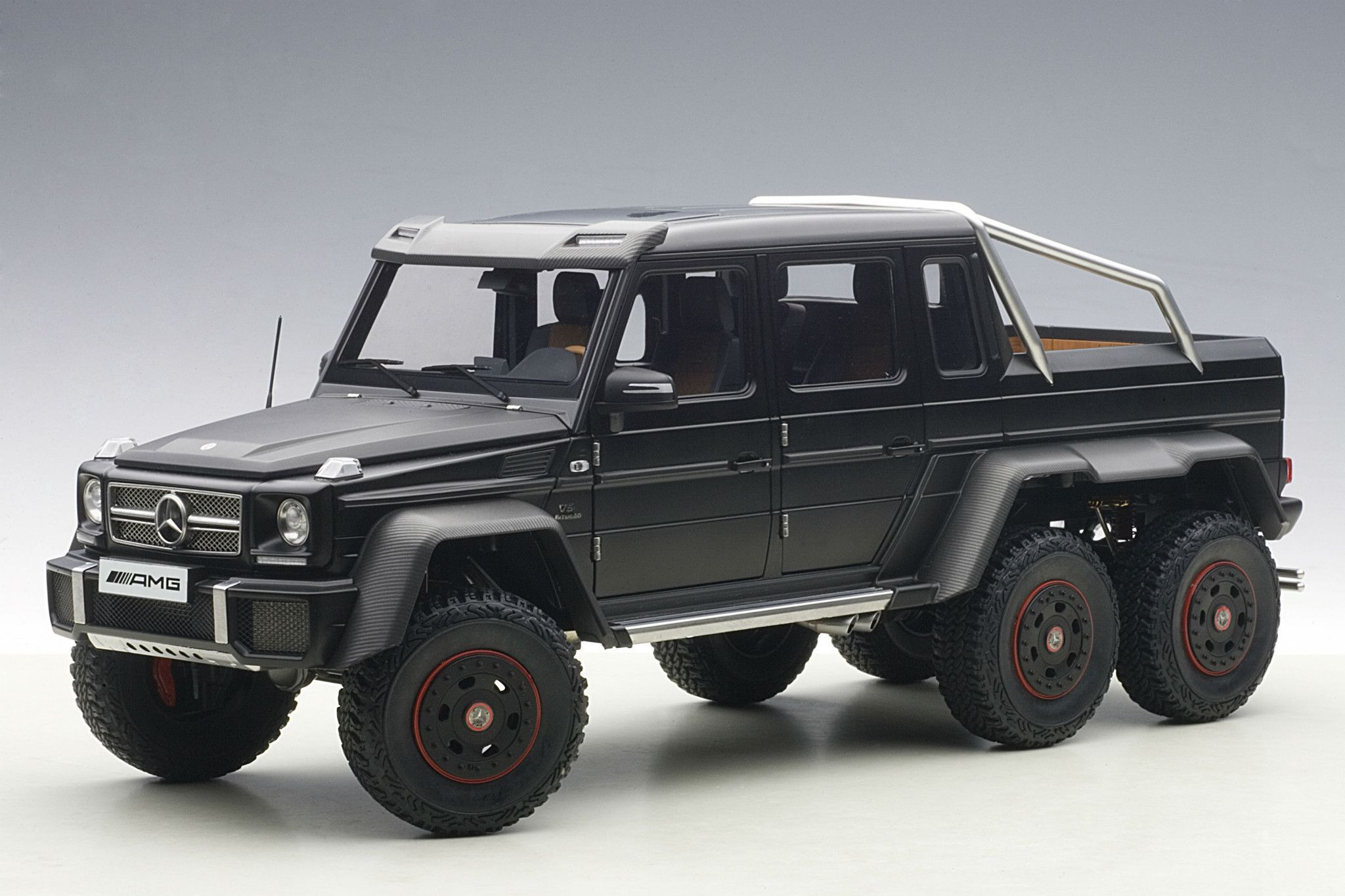 Mercedes-Benz refers to their forthcoming G63 AMG 6x6 as