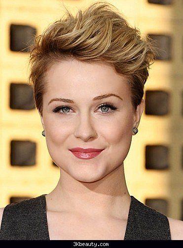 Short hairstyles no bangs - http://3kbeauty.com/short-hairstyles-no ...