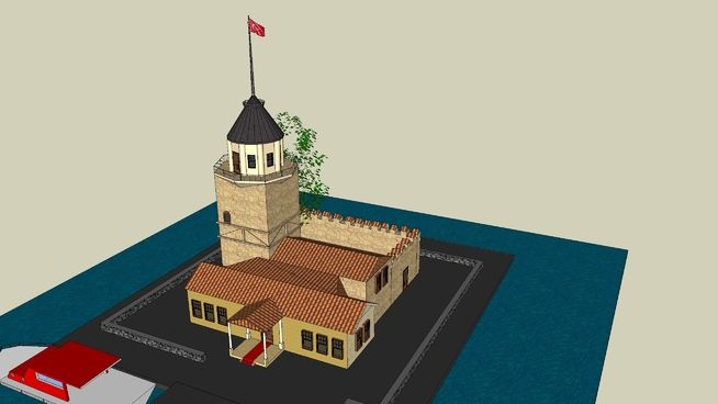KIZ KULESİ - 3D Warehouse