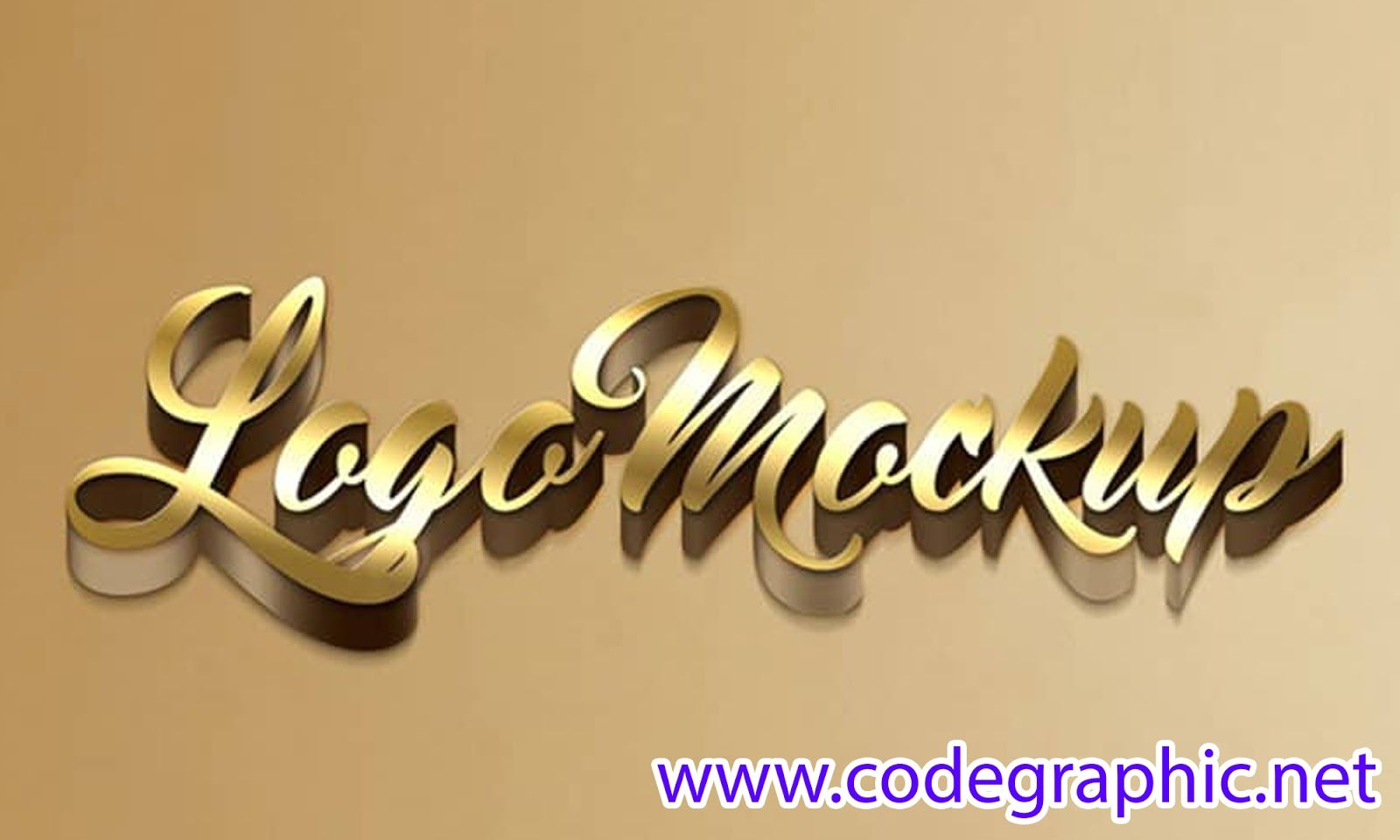 Free Download 3d Logo Mockup In Psd File 2019 Code Graphic Logo Mockup 3d Logo Logo Mockups Psd