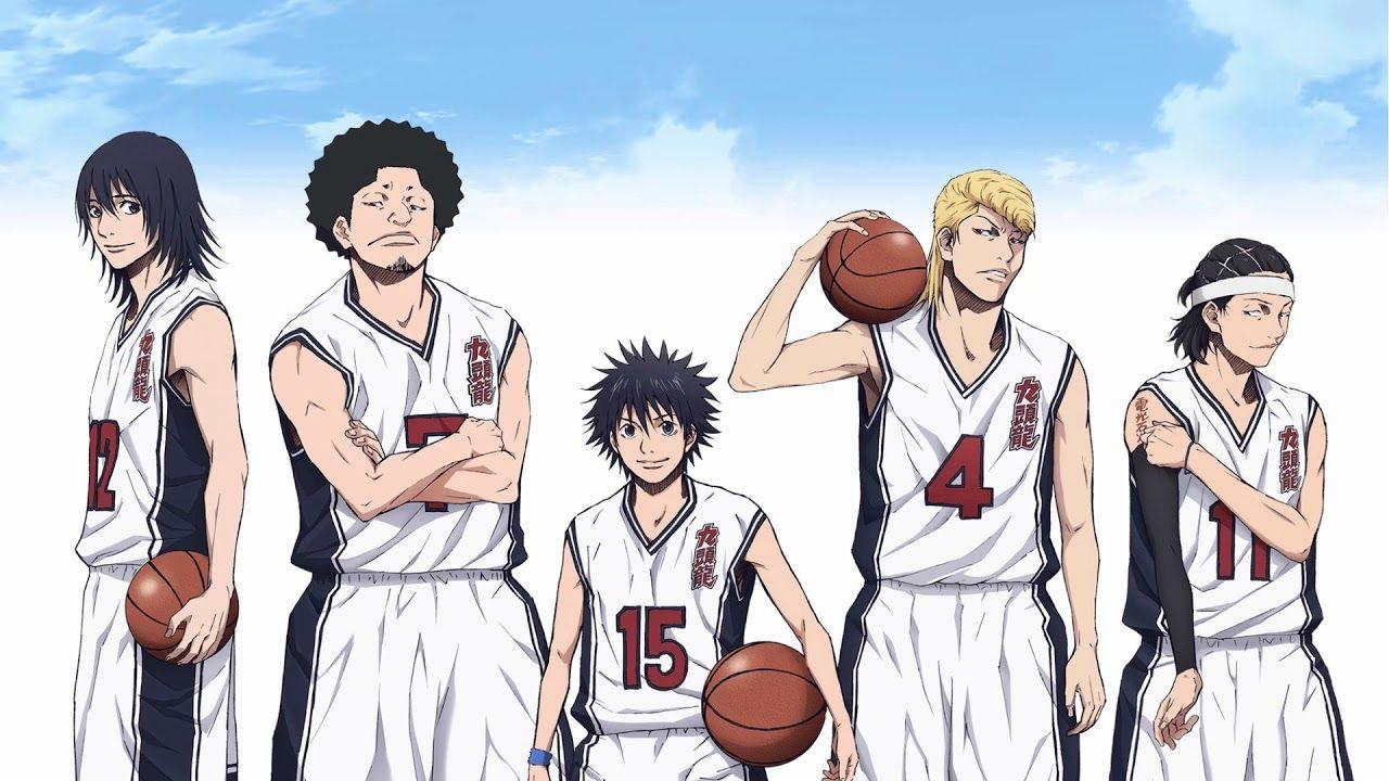 ahirunosora anime basketball music Basketball