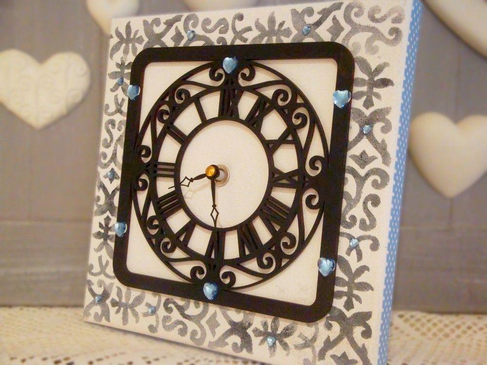 tutoriel horloge originale tableaux home d co femme2decotv d co faire soi m me. Black Bedroom Furniture Sets. Home Design Ideas