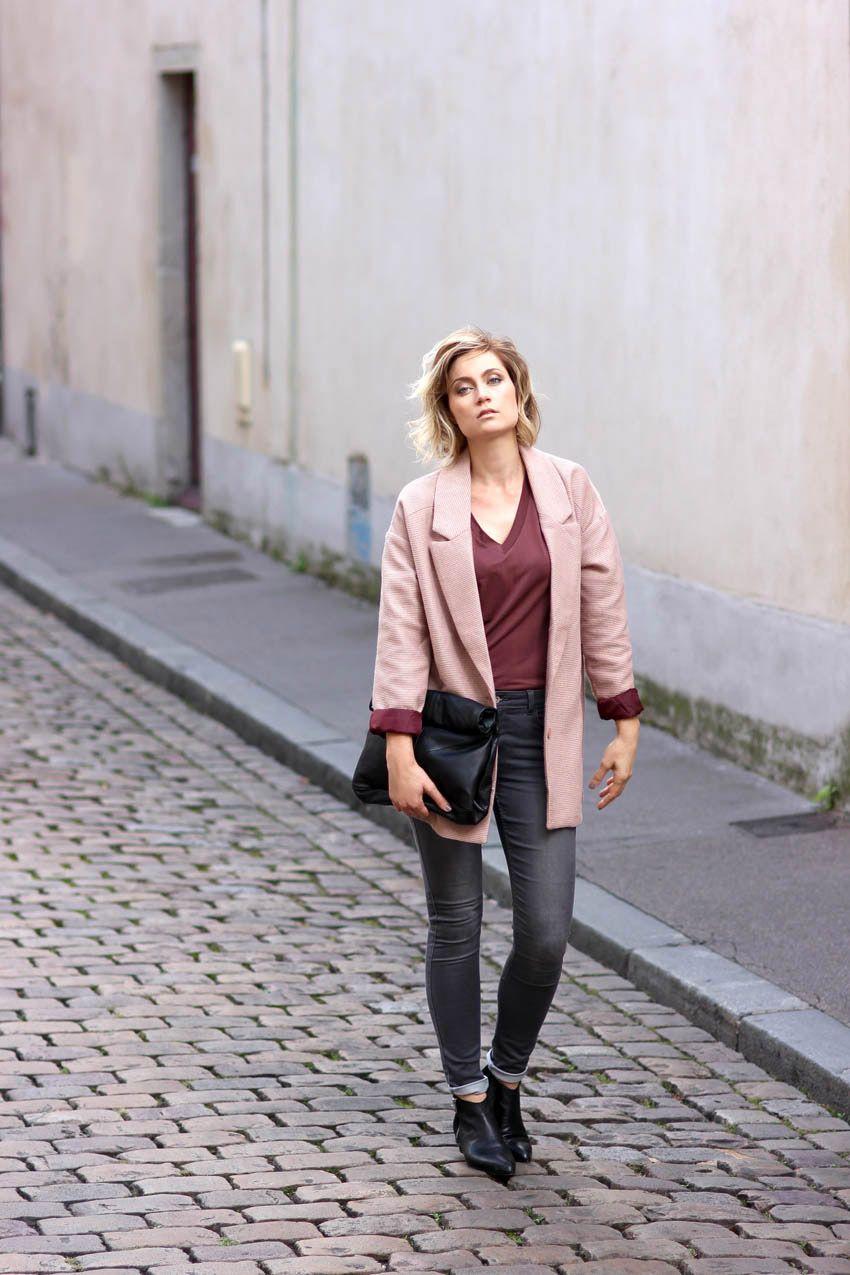 Sac Cuir Zara Bag Manteau Vero Moda Coat Over Size Black Leather Boots Streetstyle Fashion Blogger Blog Mode Fas Mode Blog Mode Style Blogueur De Mode