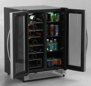 Model Wbv21dz Side By Side Dual Zone Wine Beverage