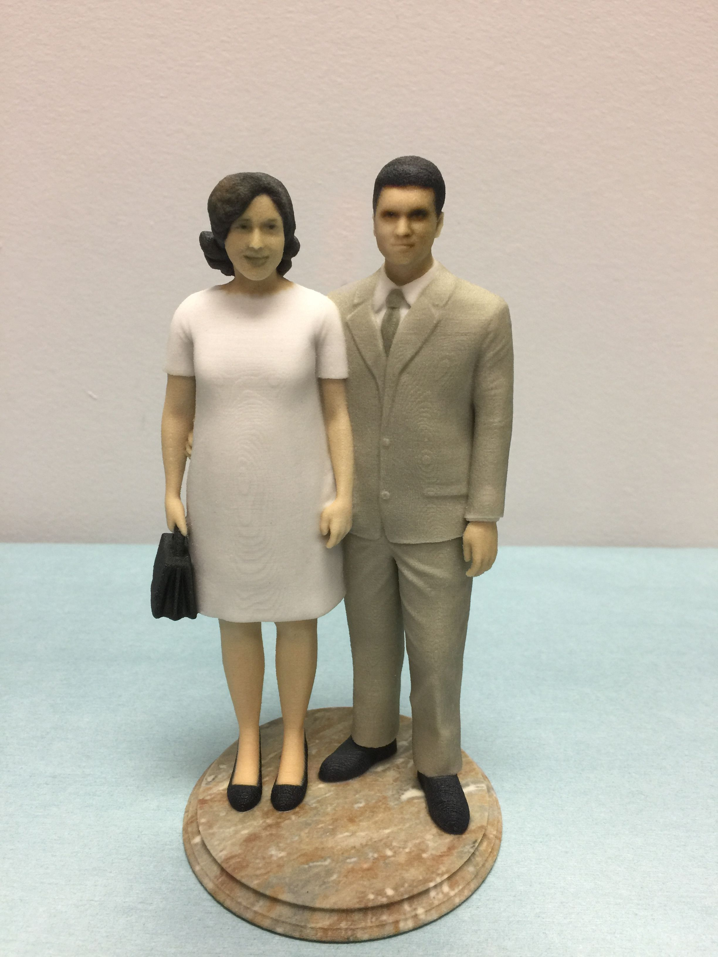 Custom Printed Wedding Cake Toppers The Body And Face Are All Life Like