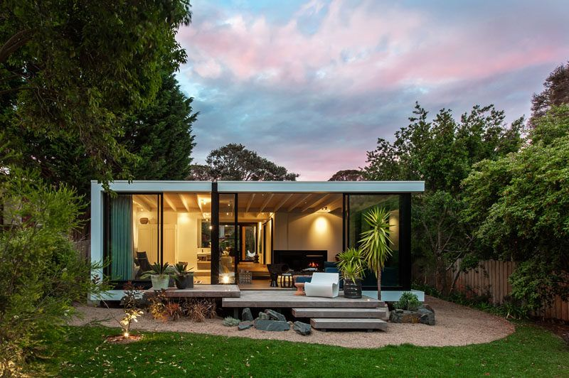 Sjb Design A Small House In A Small Town In Australia Architecture House Small House Design Small House Design Australia