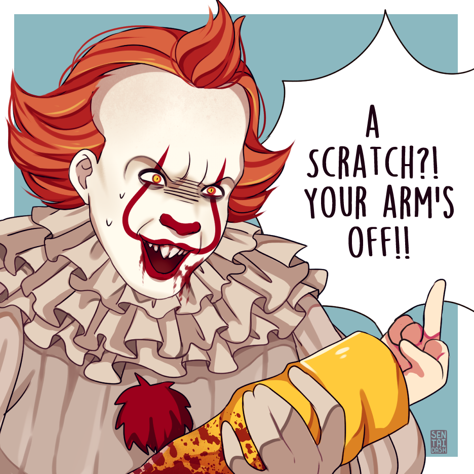 Tumblr Owtkfdtqig1rkv6xoo2 R1 1280 Png 936 936 Funny Horror Pennywise The Dancing Clown Scary Movies