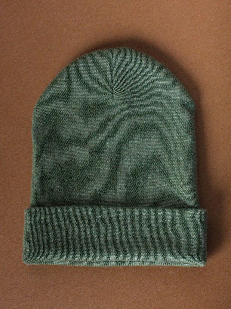 Cashmere Tova Hat in Green by Sophia Costas