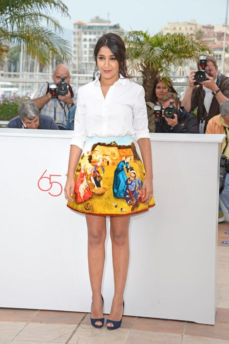 Leila Bekhti   Cannes red carpet, Star fashion, Fashion