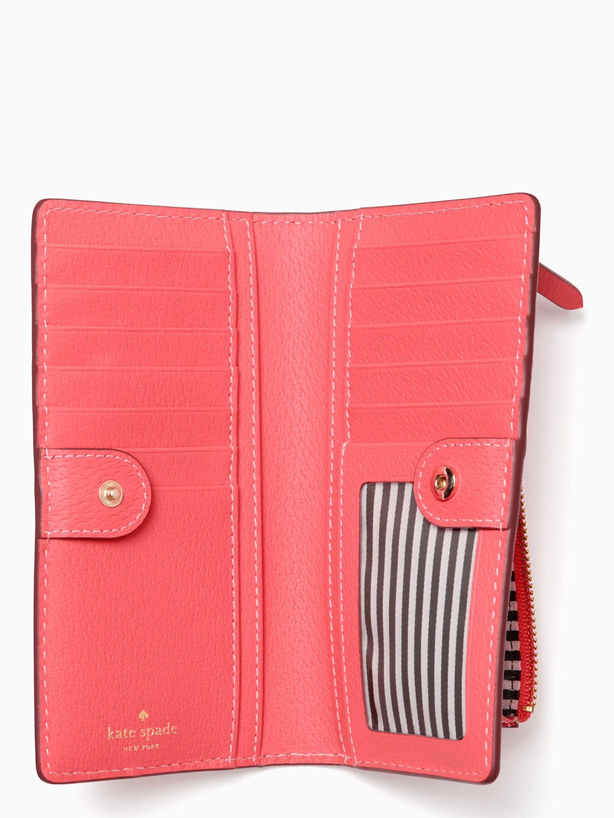28ec192d7257 Kate Spade Thompson Street Stacy - Bright Flamingo Gold