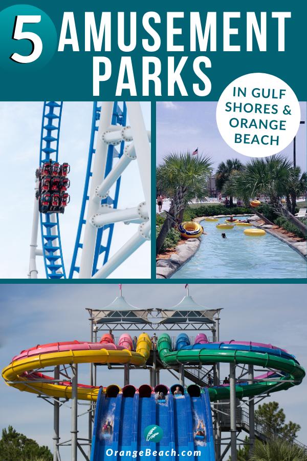 5 Thrilling Amusement Parks Gulf Shores Orange Beach In 2020 Alabama Beaches Outdoor Travel Adventure Best Amusement Parks
