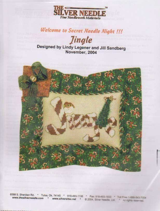 The Silver Needle Jingle Lindy Legener Jill Sandberg Counted Cross