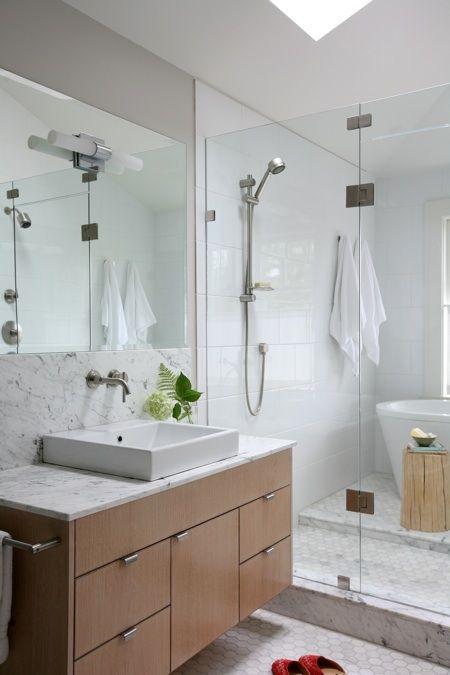 Photos  meubles-lavabos Pinterest Bathroom inspiration and House - lavabo retro salle de bain