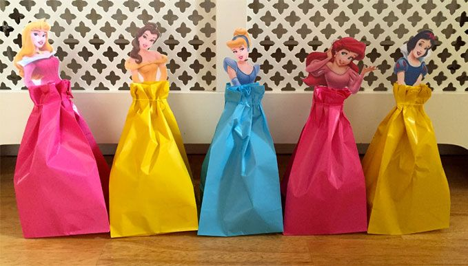 How To Make Beautiful Disney Princess Party Bags