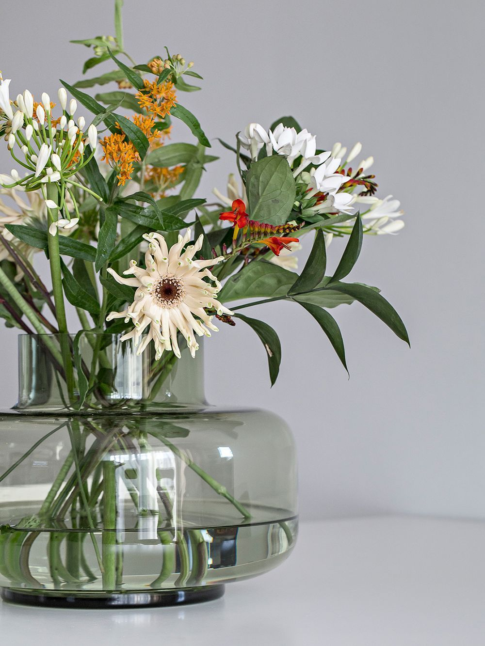 Same Flowers In Three Different Vases Which Is Your Favourite In 2020 Vase Scandinavian Vases Flowers