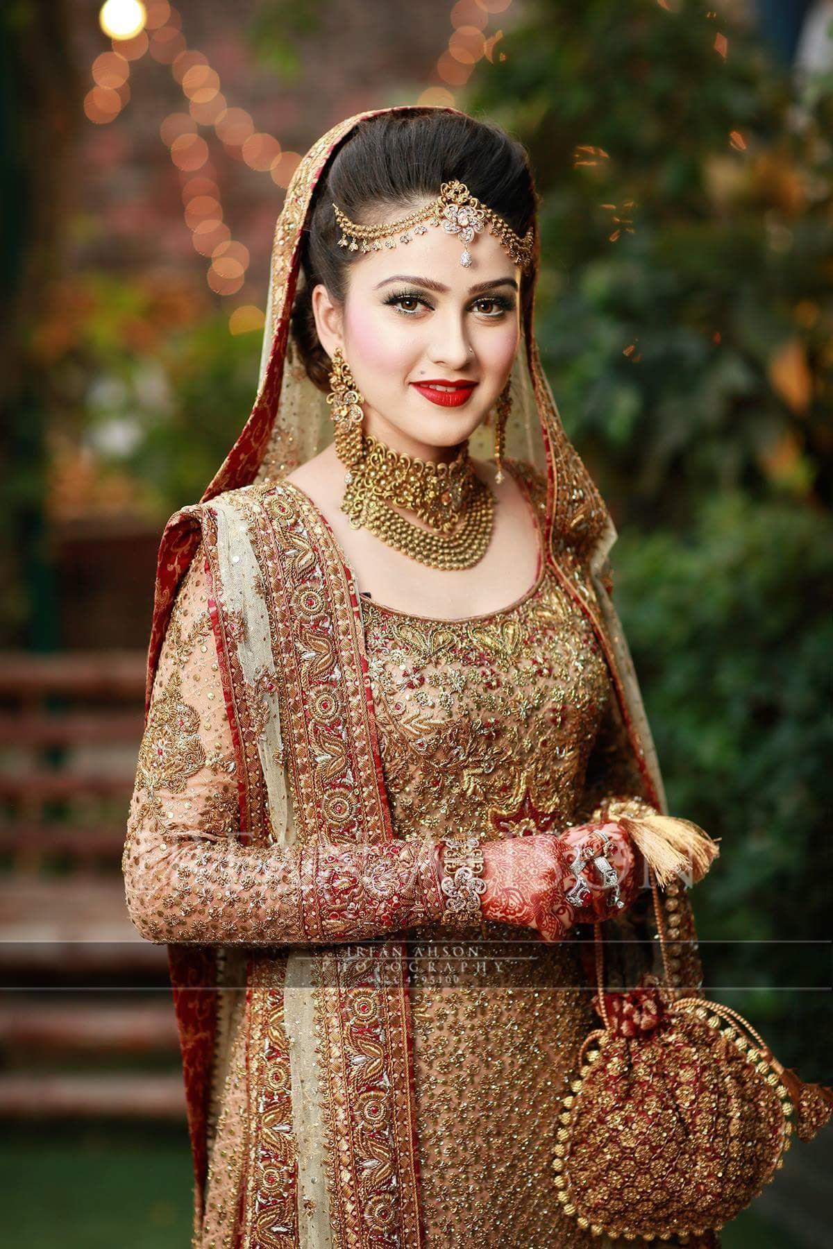 Bridal Gold Jewellery Indian Brides Pakistani bridal