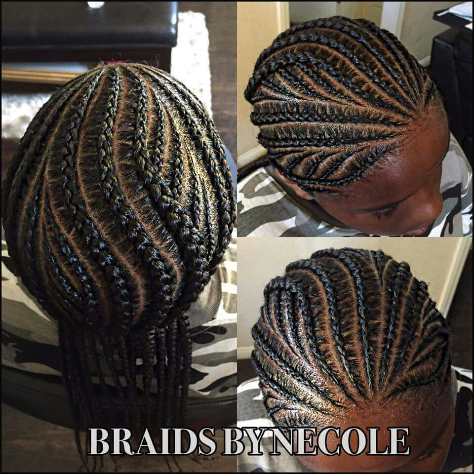 Braids By Necole In 2019 Kids Braided Hairstyles Hair