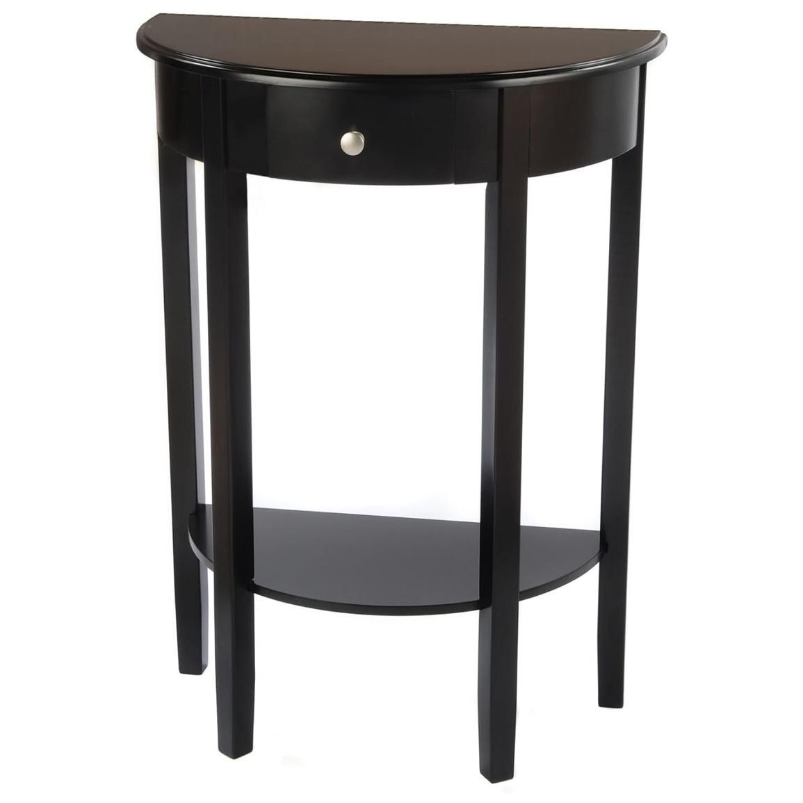Small Half Moon Table For Hall Modern Wood Furniture Check More