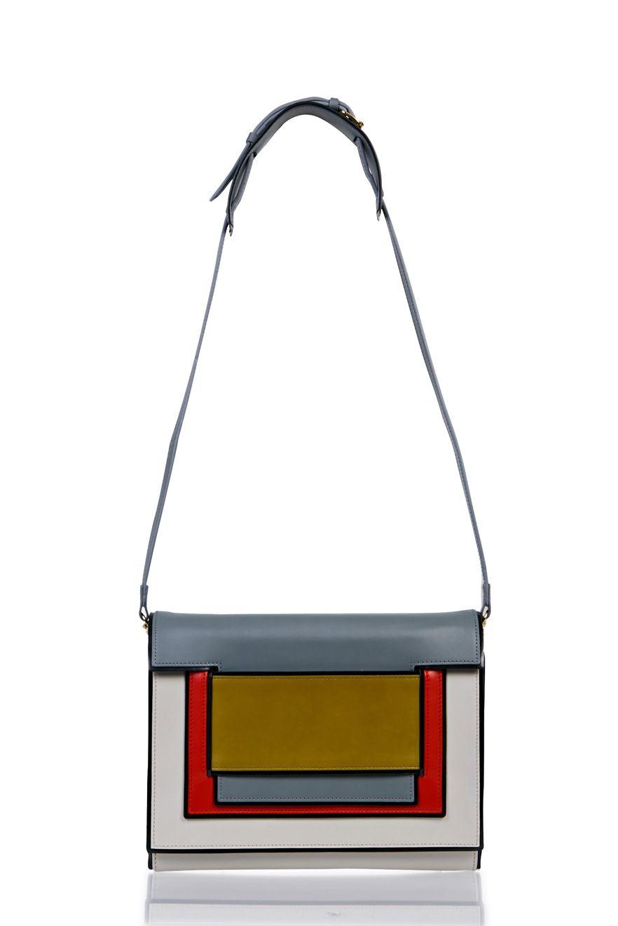 Large Shoulder Bag - MULTI OFF WHITE | PIERRE HARDY |