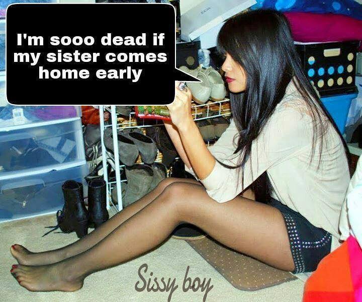 #tgcaption #tgcaptions #sissycaptions #sissycaption #tgirl #sissy #ladyboy # shemale #crossdressing #feminization #sissification #sissyboy #femboy  #sissyfag ...