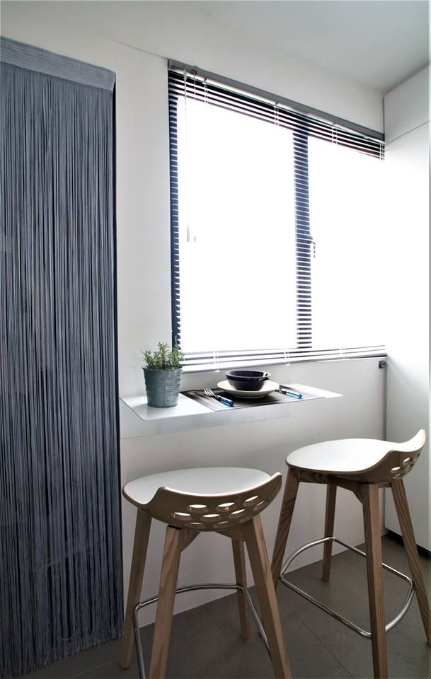 15 Dining Alternatives for Small Spaces | Wall mounted ...