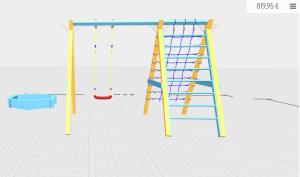 Ein Spielgerust Online Planen Kein Problem Fur Das Gerustsystem Winnetoo Wurde Ein 3d Online Planer Entwickelt Planer Traumgarten Online