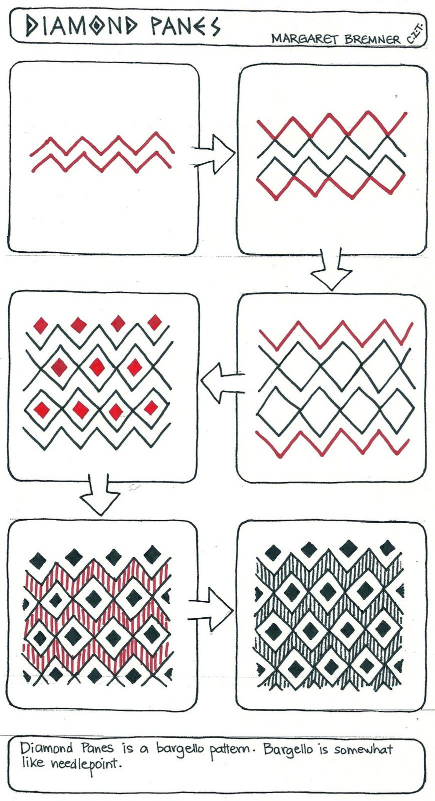30+ easy zentangle patterns to give you great ideas for your own.