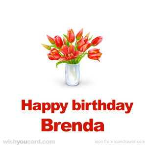 Happy Birthday Brenda You Are The Best Nina And Auntie
