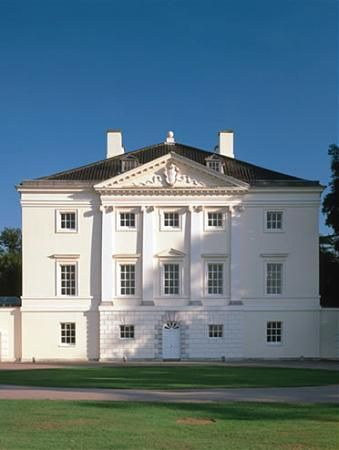 Marble Hill House - Twickenham in the London Borough of Richmond-upon-Thames. Built in 1724 by Henrietta Howard, Countess of Suffolk and the mistress of King George II to the designs of the architect Roger Morris in collaboration with Henry Herbert, 9th Earl of Pembroke  one of the 'Architect Earls'  Open to the public
