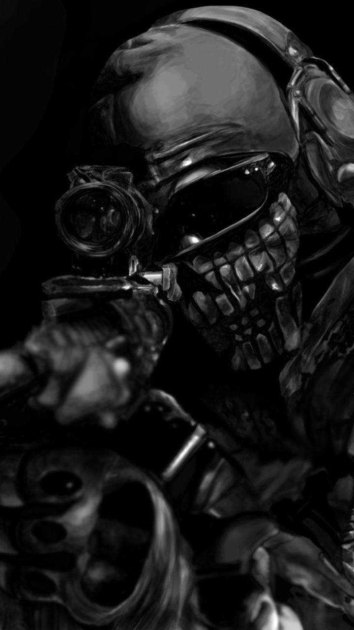 720x1280 Artwork Dark Soldier Call Of Duty Ghosts Wallpaper Papel De Parede Do Exercito Papel De Parede Caveira Papel De Parede Para Telefone
