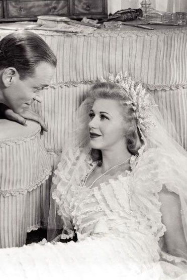 The 39 Most Iconic Movie Wedding Dresses Ever Ginger Rogers Fred And Ginger Wedding Movies