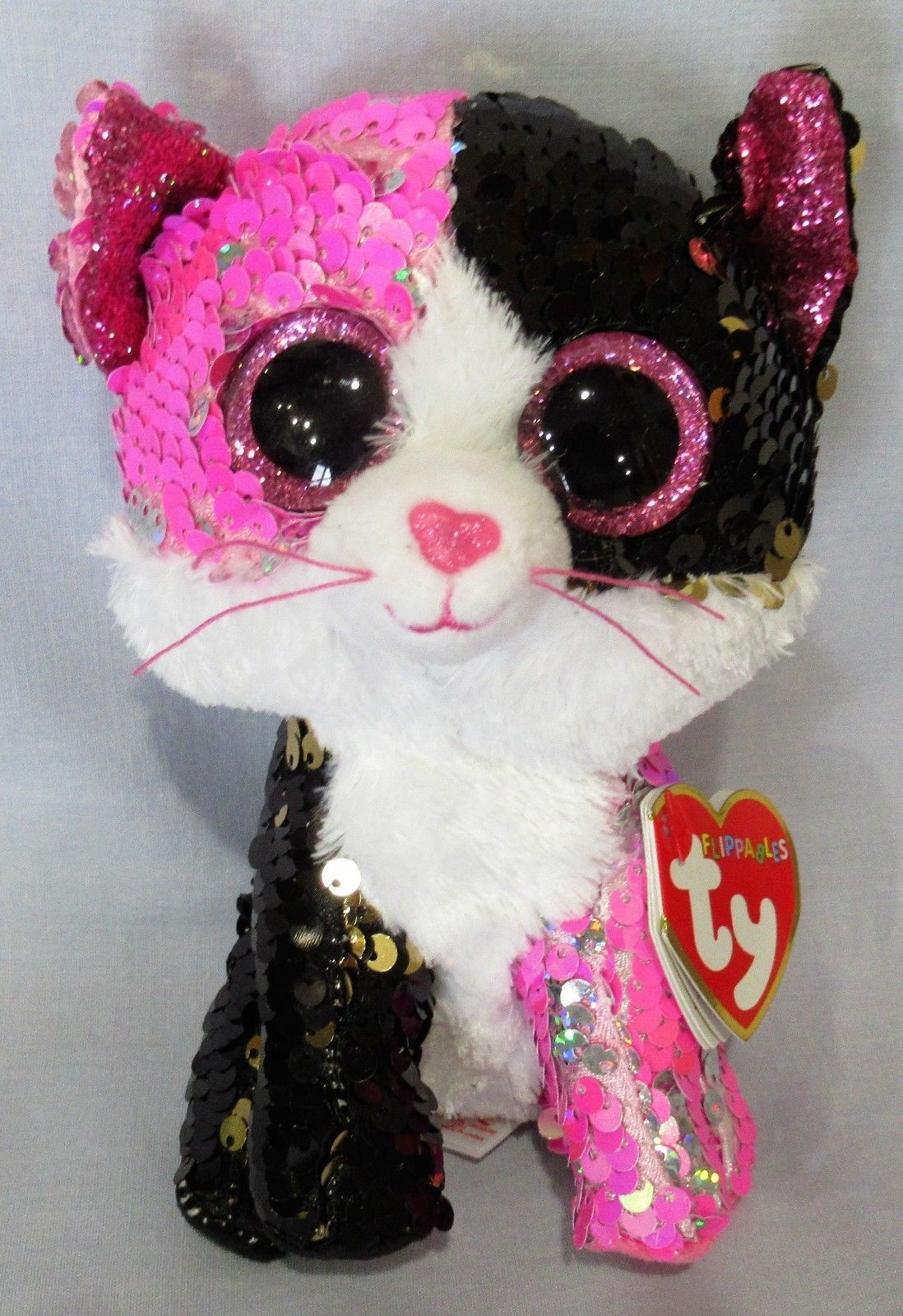 73924656aeb Current 438  Malibu - Cat - Ty Flippables Sequin Beanie 6 Boos - New With  Mint Tags -  BUY IT NOW ONLY   19.5 on  eBay  current  malibu  flippables   sequin ...