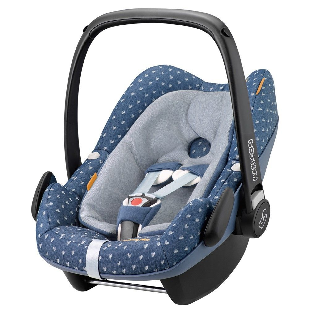 maxi cosi pebble plus car seat denim hearts x x x baby. Black Bedroom Furniture Sets. Home Design Ideas