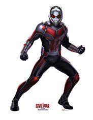 Captain America Civil War Ant Man Cardboard Cutout