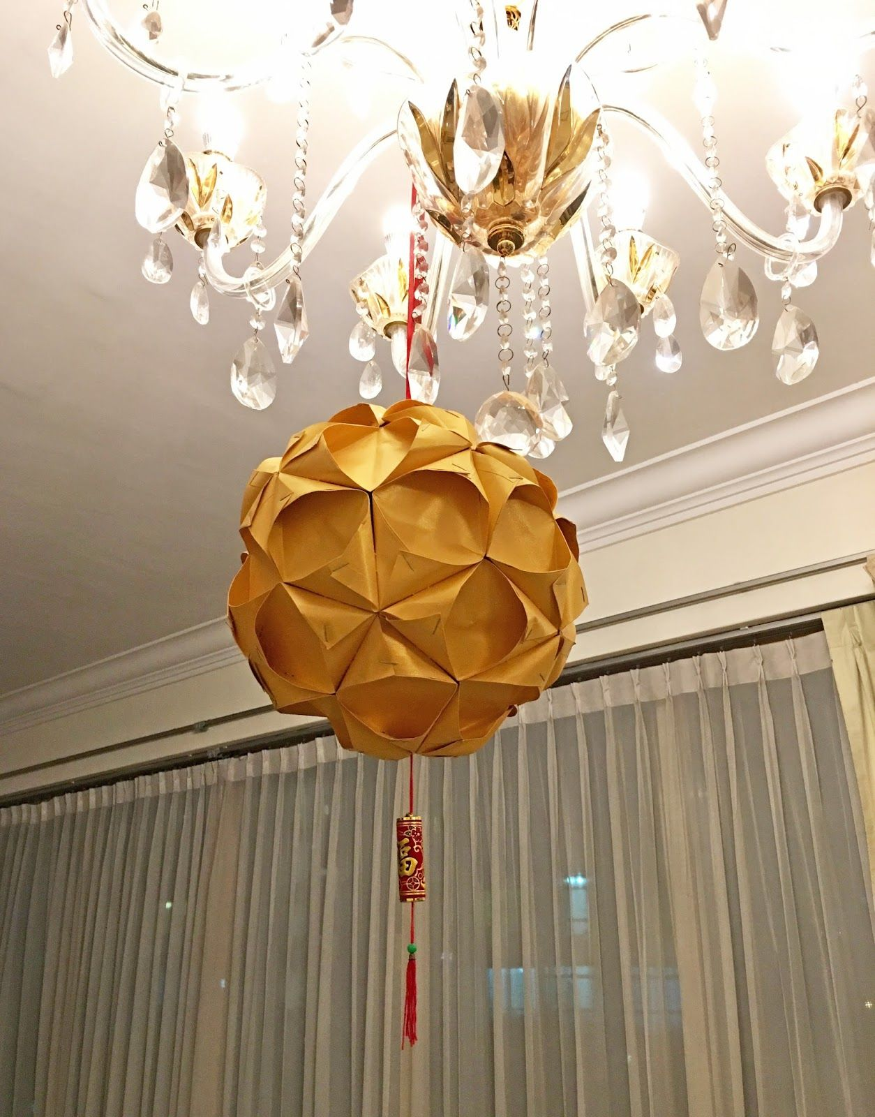 Chinese New Year Craft Ang Pow Ball Lantern Tutorial (With ...