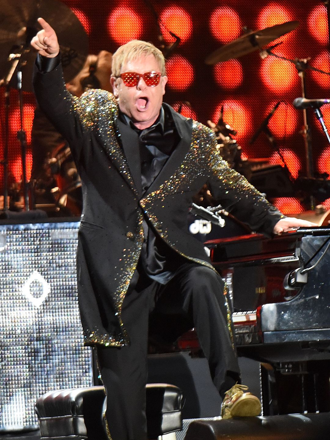 Sir Elton John performs at Piedmont Park in Atlanta.  Chris McKay, Getty Images, for Live Nation