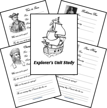 Explorer Unit Notebooking Pages and Timeline
