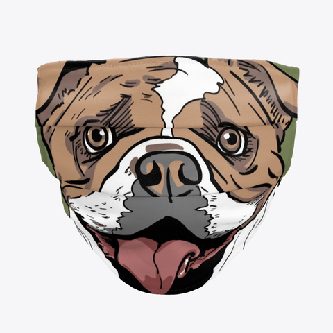 English Bulldog Mask Products Teespring In 2020