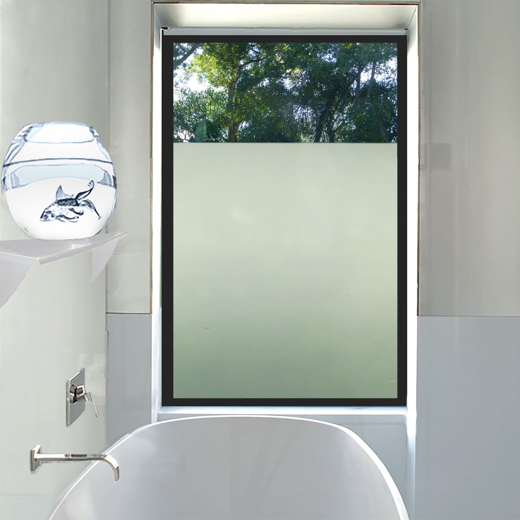 Frosted window film for home window tinting window in