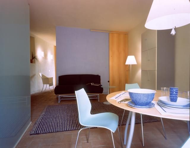 Pietro Carlo Pellegrini Architetto designed the 'Apartment in Piazza Anfiteatro' in Lucca, Italy. http://en.51arch.com/2013/03/a801-apartment-in-piazza-anfiteatro/