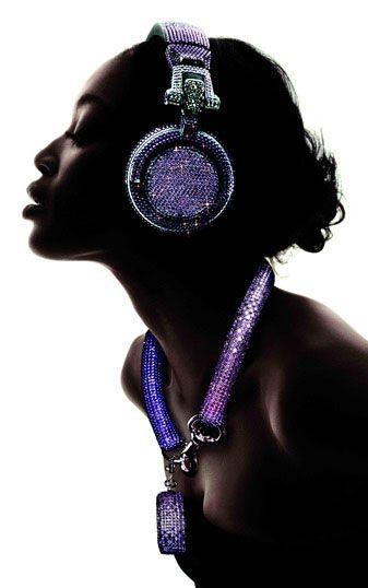 Swarovski Fashion Rocks – DJ Headphones
